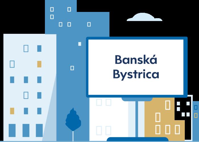 Centrum 5 peňazí Banská Bystrica